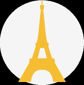 Logo tour Eiffel Paris