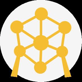 Logo atomium bruxelles