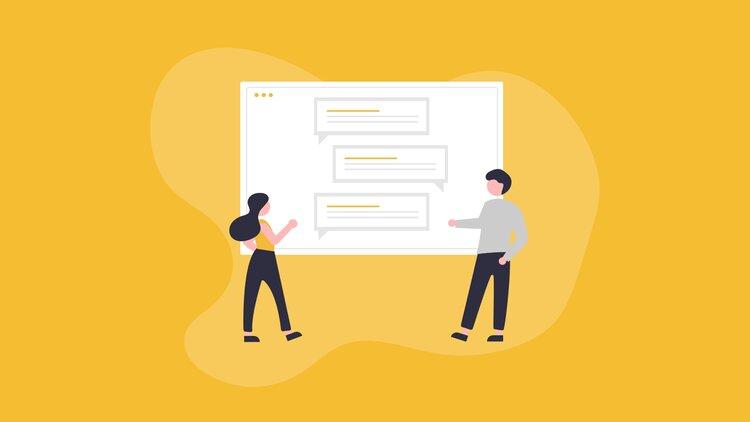 Représentation du système de messagerie instantanée d'un logiciel de gestion de candidats
