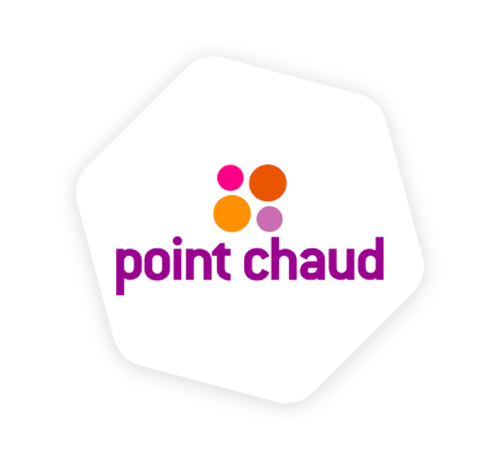 Logo point chaud