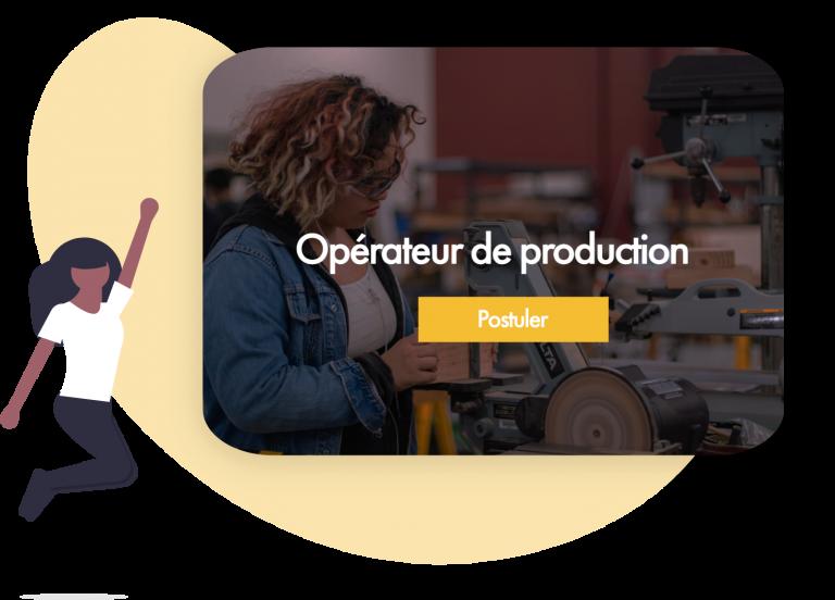 offre d'emploi pour un poste d'operateur de production en usine