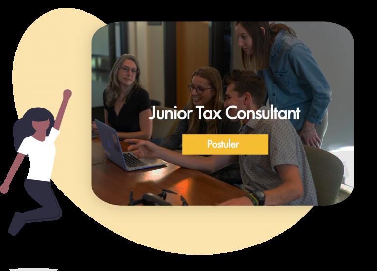 offre d emploi pour recruter un consultant junior