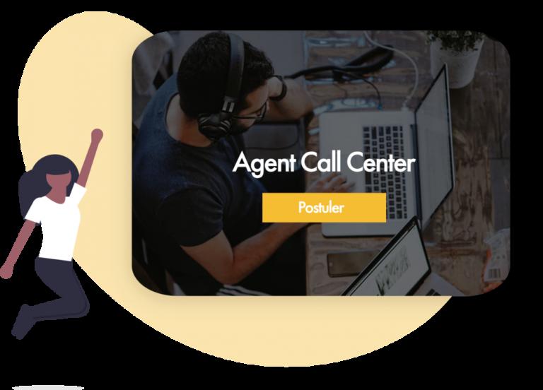 Offre d'emplois pour recruter un agent de call center