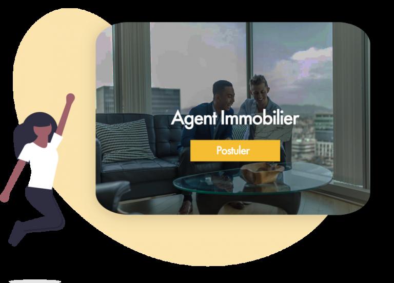 offre d'emploi pour recruter un agent immobilier