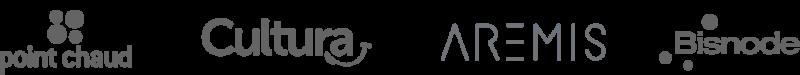 Logo de plusieurs entreprises qui utilise un logiciel de recrutement